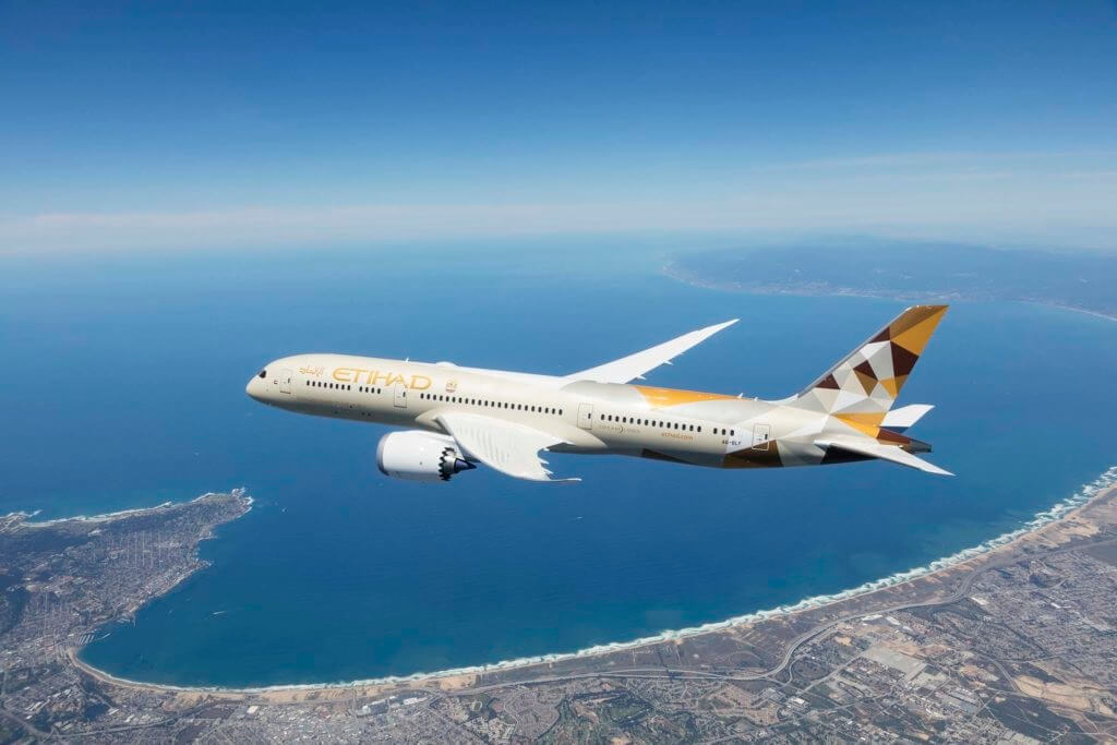 Etihad Airways launches new flights to Malaga, Spain with Boeing 787-9 jet