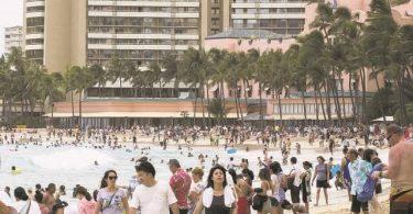 Havajský cestovní ruch: Návštěvníci v listopadu 1.33 utratili na Havaji 2019 miliardy dolarů