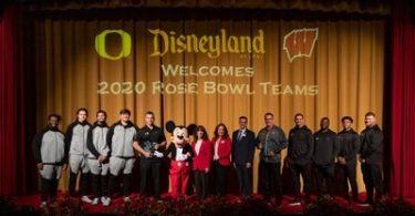 Disneyland Resort hostí týmy Rose Bowl Game