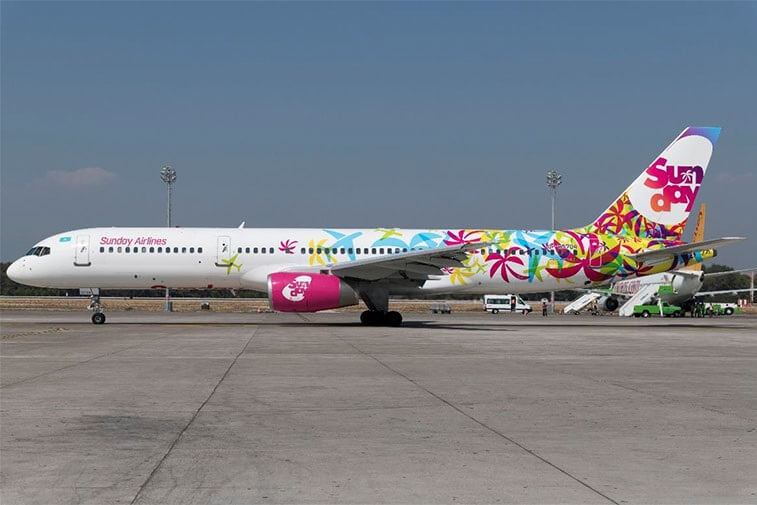 Sunday Airlines lança Sanya, China, do aeroporto de Budapeste