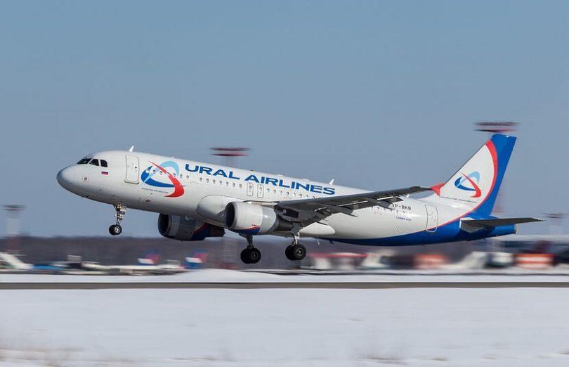 Tryskové letadlo Ural Airlines se 149 na kanci nouzově přistálo v Rusku