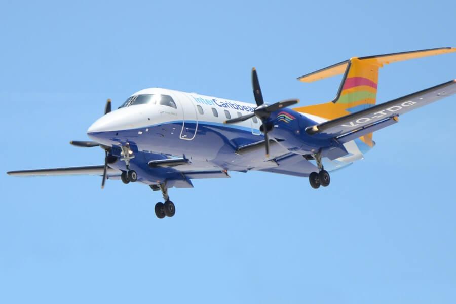 इंटरक्राबेथ एयरवेज ने टॉरटोला उड़ान के लिए नया पुंटा कैन लॉन्च किया