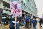 Les travailleurs de Swissport entrent en grève dans les aéroports de Montréal