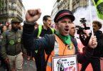 Η μαζική απεργία θα διαταράξει τις υπηρεσίες τρένων, λεωφορείων και αεροπορικών εταιρειών στη Γαλλία