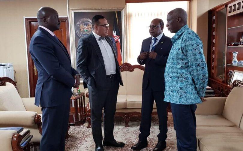 Міністр Бартлетт завершить обговорення щодо створення першого супутникового центру в Кенії