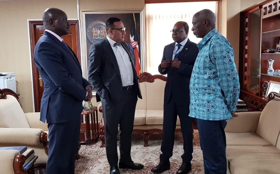 Minister Bartlett zakończy rozmowy na temat utworzenia pierwszego Centrum Satelitarnego w Kenii