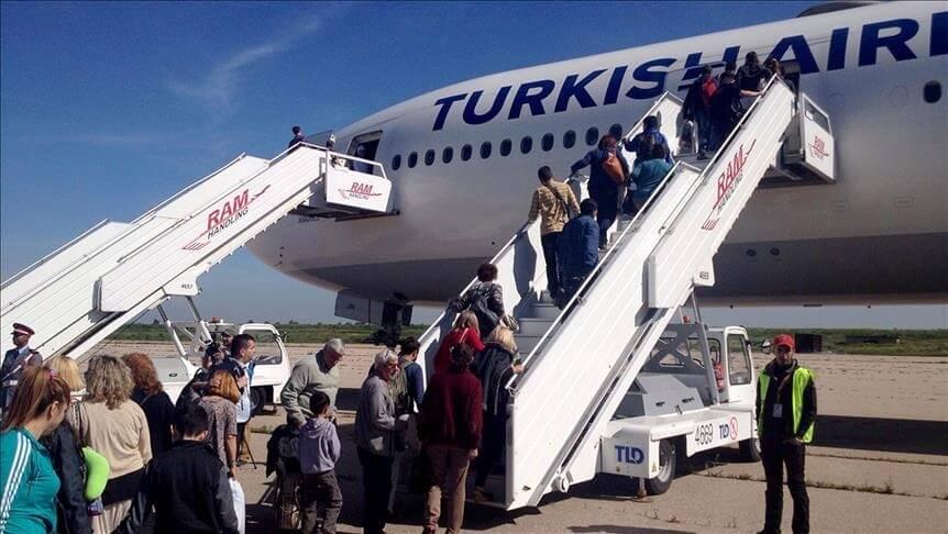 Turkish Airlines: 5.7 milhões de passageiros em novembro de 2019