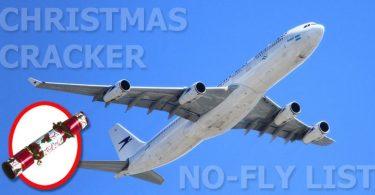 Letecké společnosti přidaly vánoční sušenky na svůj Naughty List