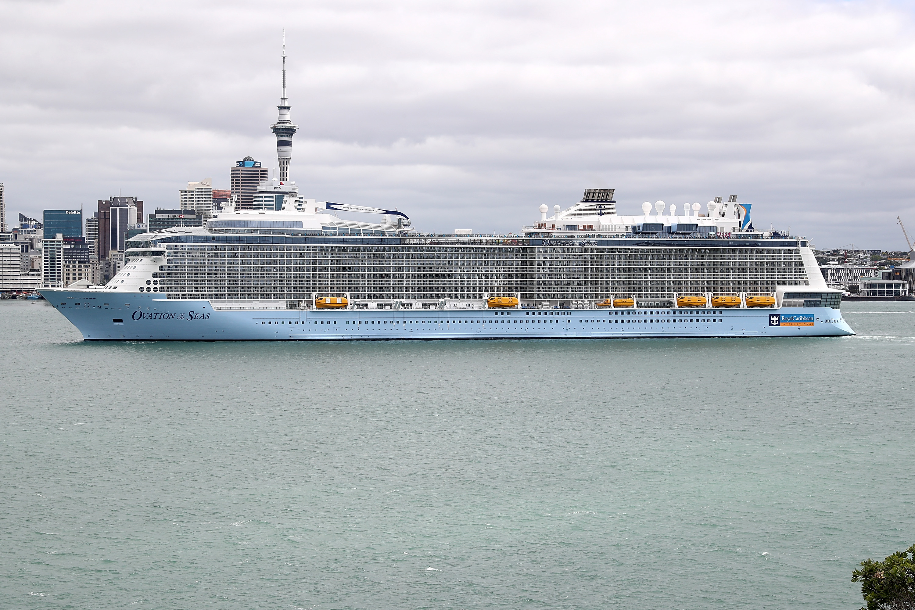 Royal Caribbean Cruise Passengers in danger in New Zealand volcano eruption?