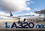 एयर कोर्सिका को पट्टे पर एयरबस ए 320 नियो प्राप्त हुआ