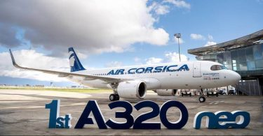 ایر کورسیکا ایرباس A320 نئو اجاره ای را دریافت کرد