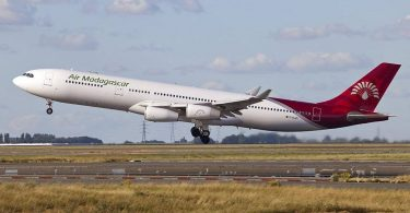 تعلیق پروازهای ایر ماداگاسکار به ژوهانسبورگ