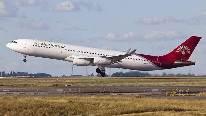 Air Madagascar mampiato ny sidina mankany Johannesburg