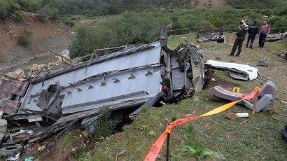 24 توریست در حادثه جاده ای تونس کشته شدند