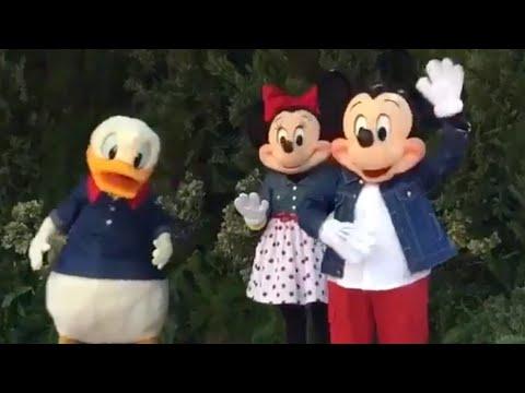 Οι χαρακτήρες της Disney World αναφέρουν το groping και τον τραυματισμό