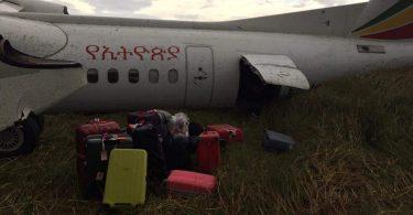 에티오피아 항공은보고 된 부상없이 추락했습니다