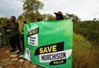 Protestos na Associação de Operadores Turísticos de Uganda sobre Barragem em Murchison Falls