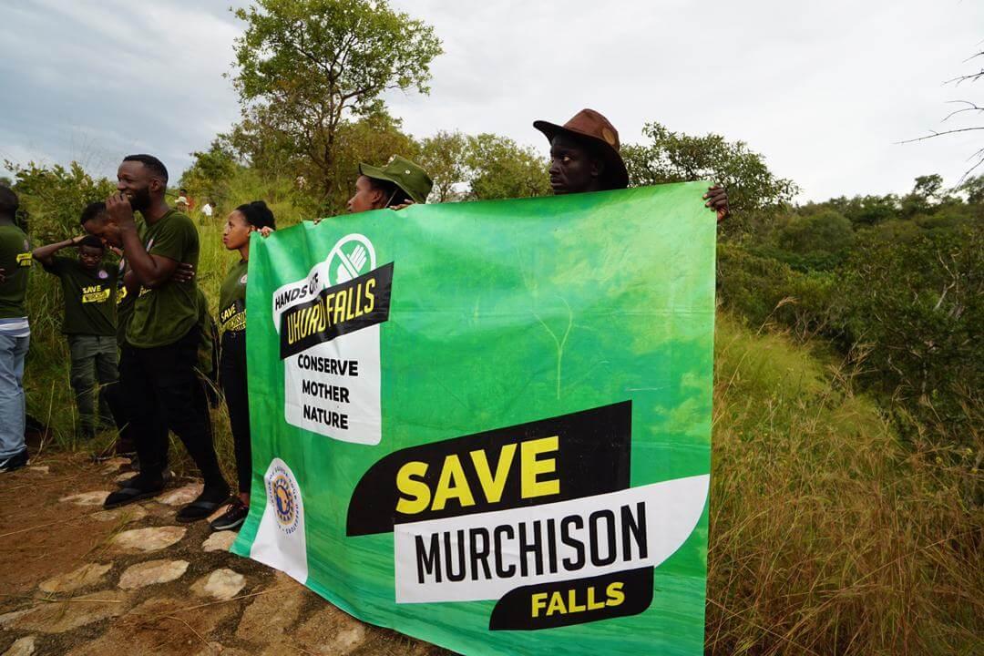 اعتراض در انجمن مجریان تور اوگاندا درباره سد در مورچیسون فالز