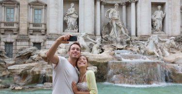 Inona no tanàna any Italia mety hiafara amin'ny selfie?