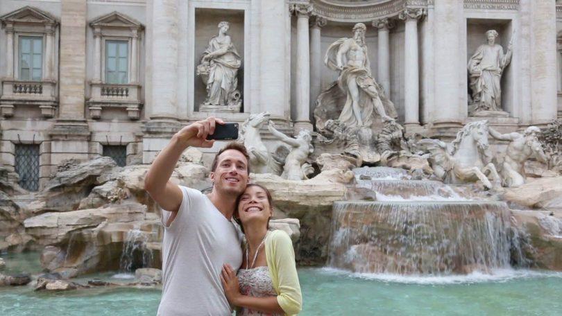 بیشتر کدام شهر در ایتالیا به سلفی ختم می شود؟