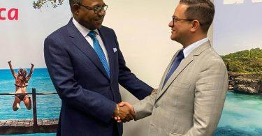 Jamaica nu mest forbundne land fra Sydamerika