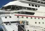 Dois navios da Carnival Cruise colidem em Cozumel
