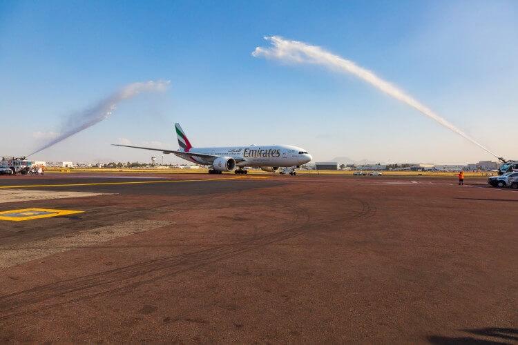 Como voar com estilo de Dubai para a Cidade do México?