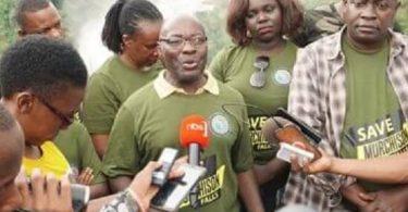 新しいウガンダ観光大臣政府改造の一部