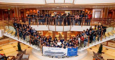 Сапфировата принцеса пристига в Сингапур за шести сезон за домашно пристанище