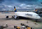 Grŵp Lufthansa: Trydan gwyrdd 100% mewn marchnadoedd cartref