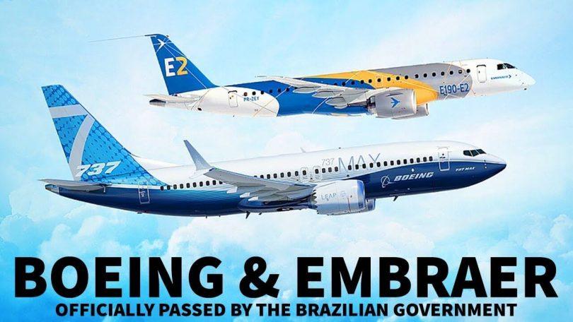 Brazilska vlada odobrava ugovor o Boeingu i Embraeru