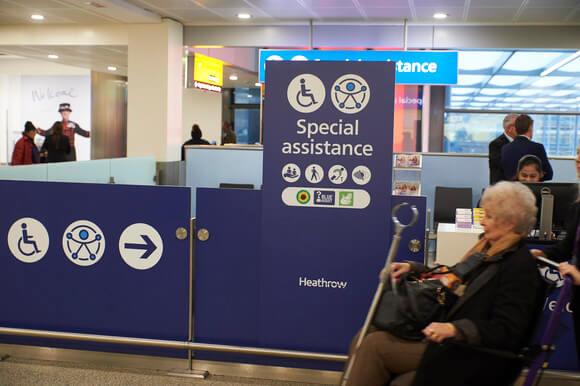 يعلن مطار هيثرو عن تعيين مواعيد لتغيير تجربة المساعدة