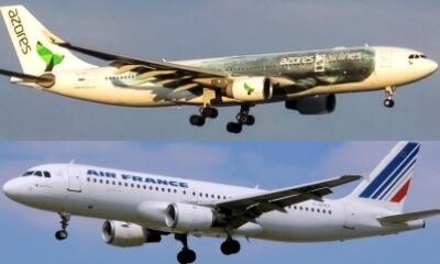 وقعت الخطوط الجوية الفرنسية وساتا أزوريس اتفاقية للرمز المشترك