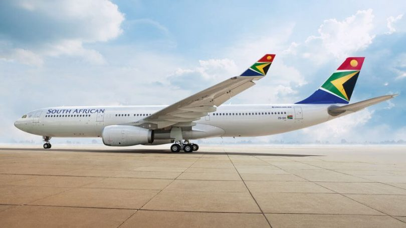 خطوط هوایی آفریقای جنوبی به کار خود بازگشت