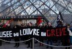 متظاهرو باريس: آسفون أيها السائحون ، لا يوجد متحف لوفر لكم اليوم