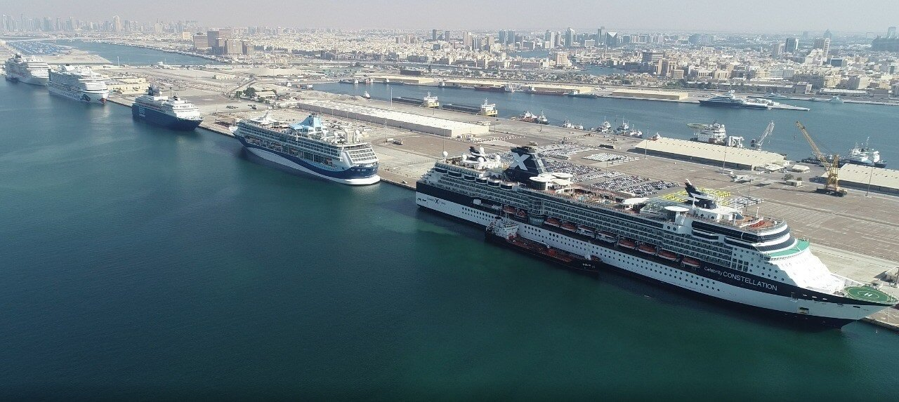 Record six international cruise ships arrive in Dubai in one day