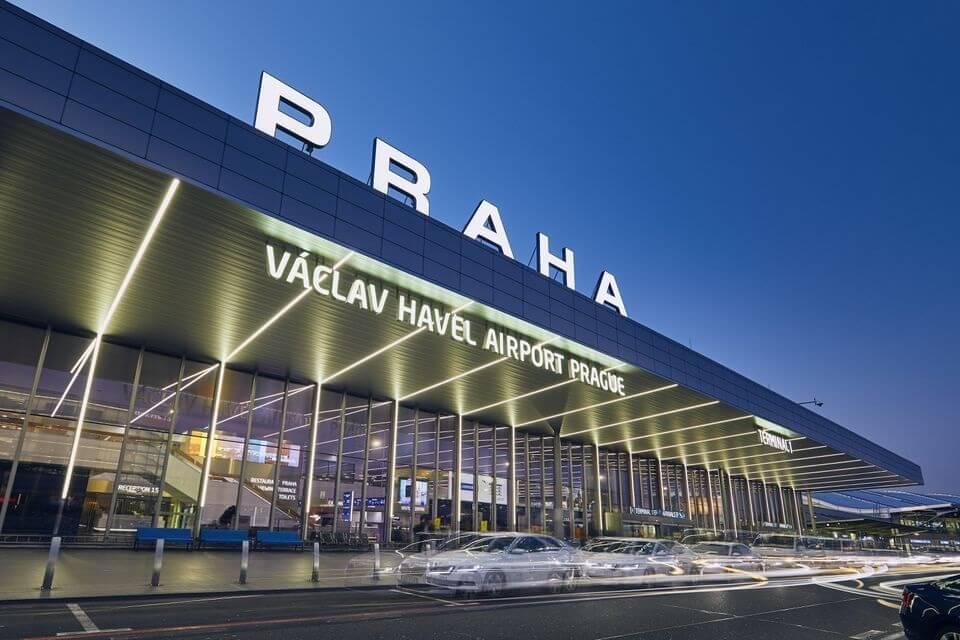 A prágai repülőtéren 17.8 millió légi utas utazott 2019-ben