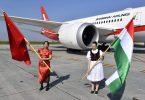 Shanghai Airlines käynnistää päivittäiset lennot Budapestista Shanghaihin