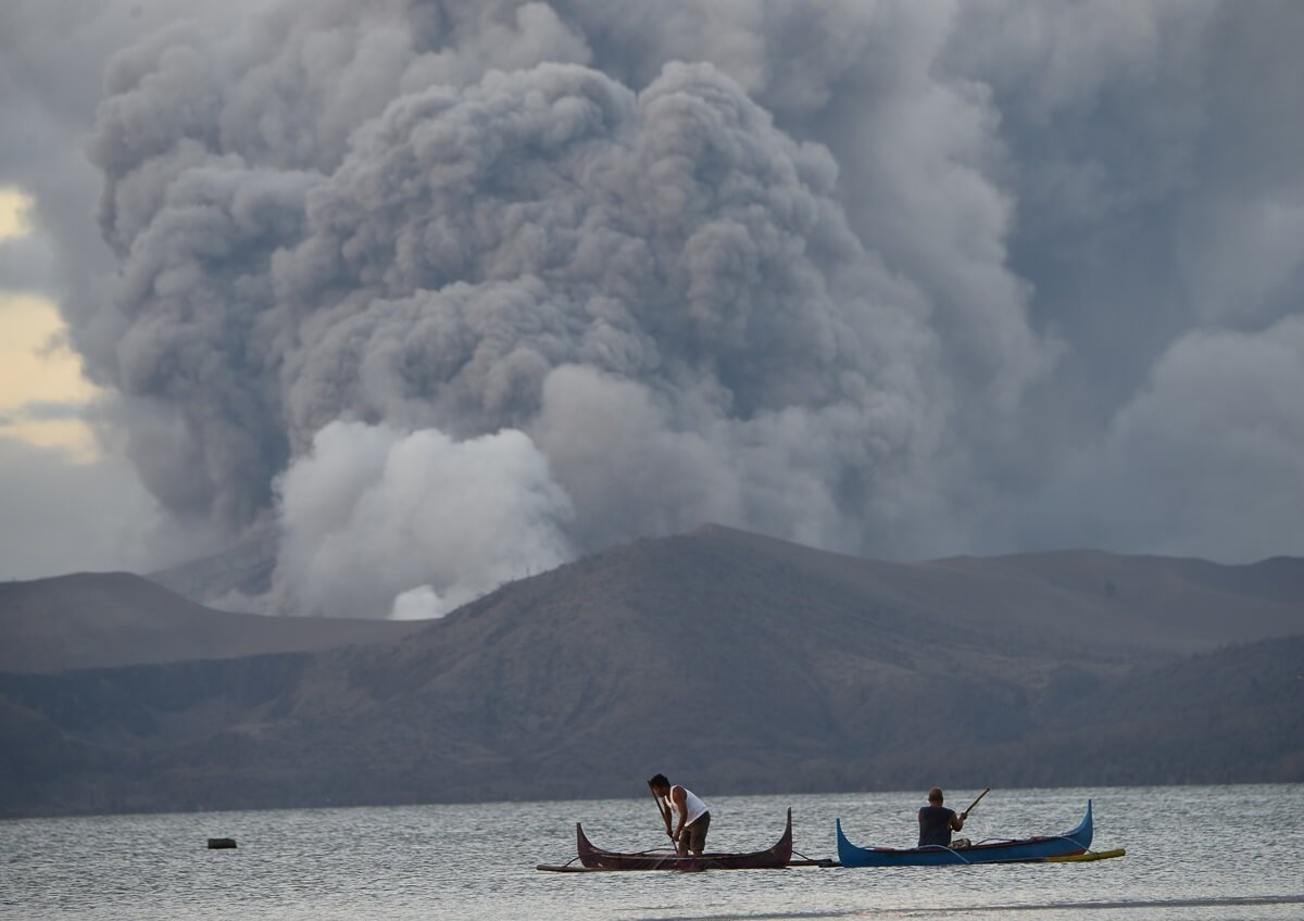 Philippines declares Taal Volcano island a 'no man's land'
