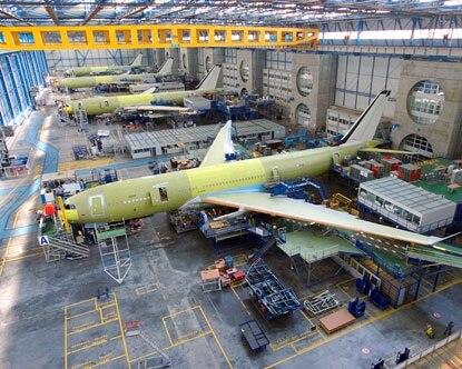 Airbus añade capacidades de producción del A321 en Toulouse