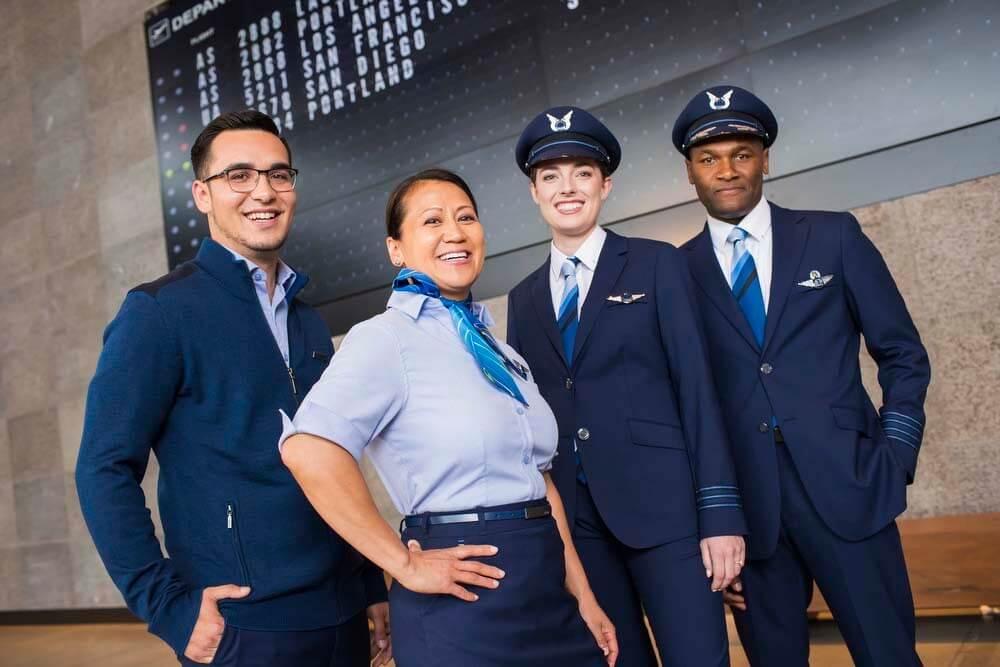 Top feiligensnormen: Alaska Airlines yntroduseart nij unifoarm