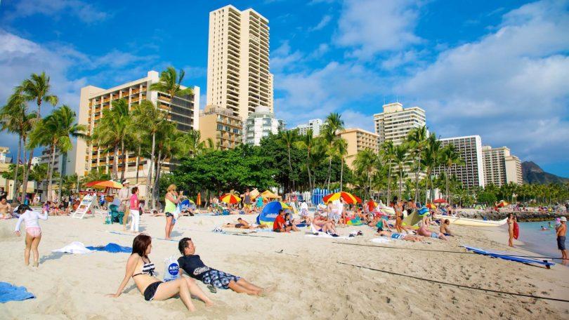 Turismo en Hawái: $ 4.49 millones en ingresos por habitaciones de hotel en 2019