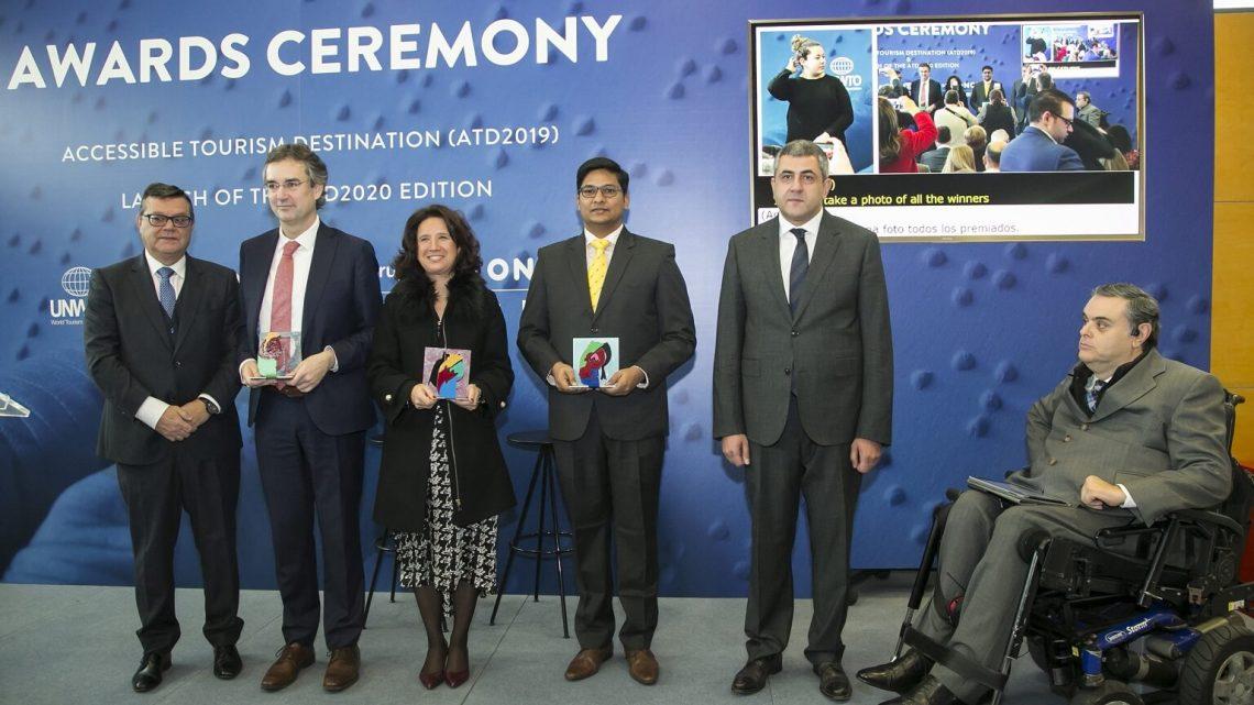 UNWTO reconhece i'Accessible Tourist Destinations 'na FITUR