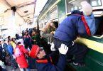 China: ya se han vendido más de 300 millones de billetes de tren para el Festival de Primavera