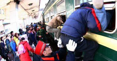 Չինաստան. Արդեն վաճառվել է ավելի քան 300 միլիոն Գարնանային փառատոնի գնացքների տոմսեր
