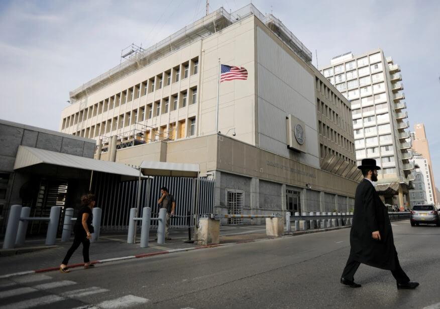 Amerikaanske ambassade warskôget Amerikanen yn Israel foar raketoanfallen en 'feiligensynsidinten'