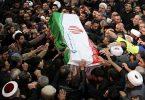 40 njerëz të vrarë, 213 të plagosur në ikjen e varrimit Soleimani të Iranit