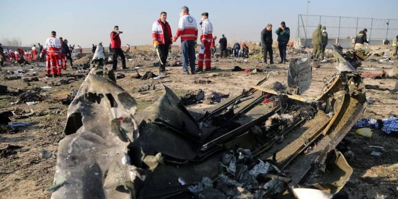 "Iran tvrdi da se Boeing ""International Airlinesa"" zapalio u letu """