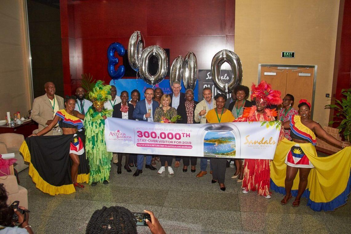 Antigua dan Barbuda mencapai pencapaian pengunjung menginap ke-300,000 pada tahun 2019
