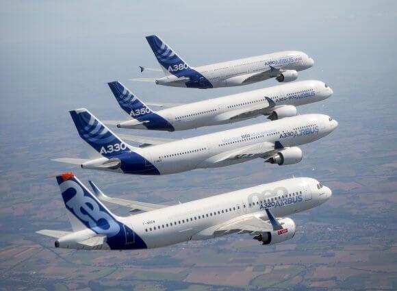 Airbus: 863 kommercielle fly leveret til 99 kunder i 2019